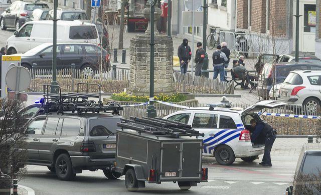 Opération policière d'envergure à Bruxelles