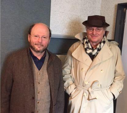 Ryvone Krygier et Gérard Garouste