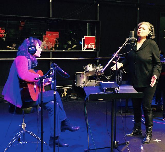 Elise Caron et Parvin Namazi