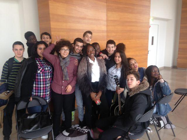 Eleves du collège Pierre de Geyter