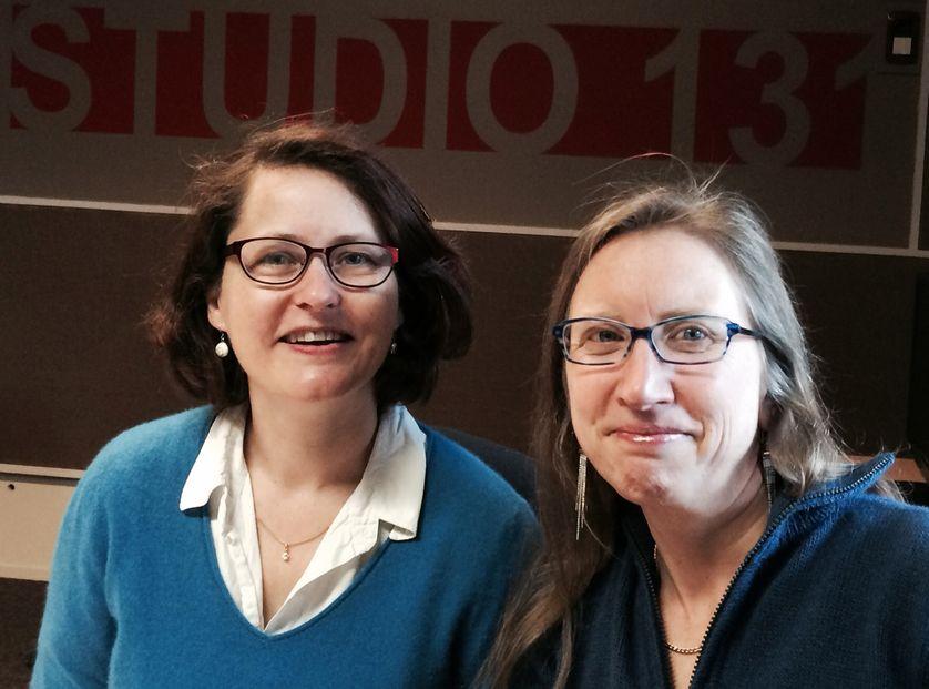 Anne Mathiot et Nathalie Chaumet