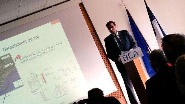 Le BEA a publié plusieurs recommandations après le crash