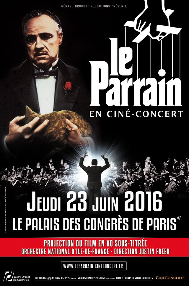 Le Parrain en Ciné concert