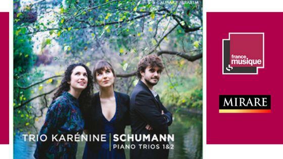 Schumann - Trio pour piano n1 & 2 par le Trio Karenine