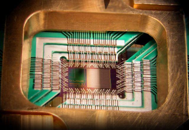 Le processeur de 128-qubit de l'ordinateur D-Wave