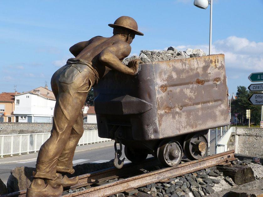 Monument dédié aux mineurs