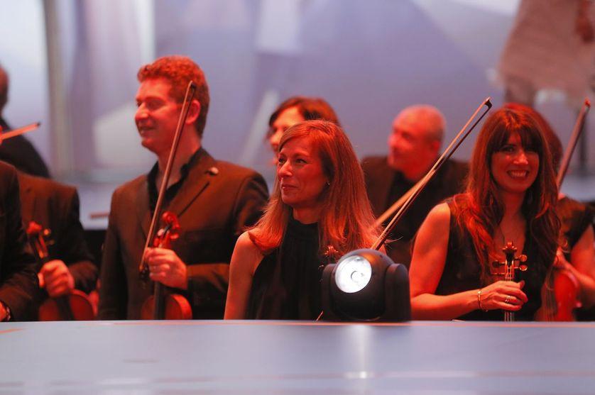 Anne Gravoin aux 31èmes Victoires de la Musique, le 12 février 2015