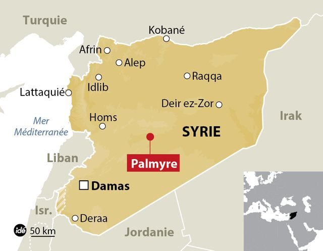 Le site de Palmyre repris aux djihadistes
