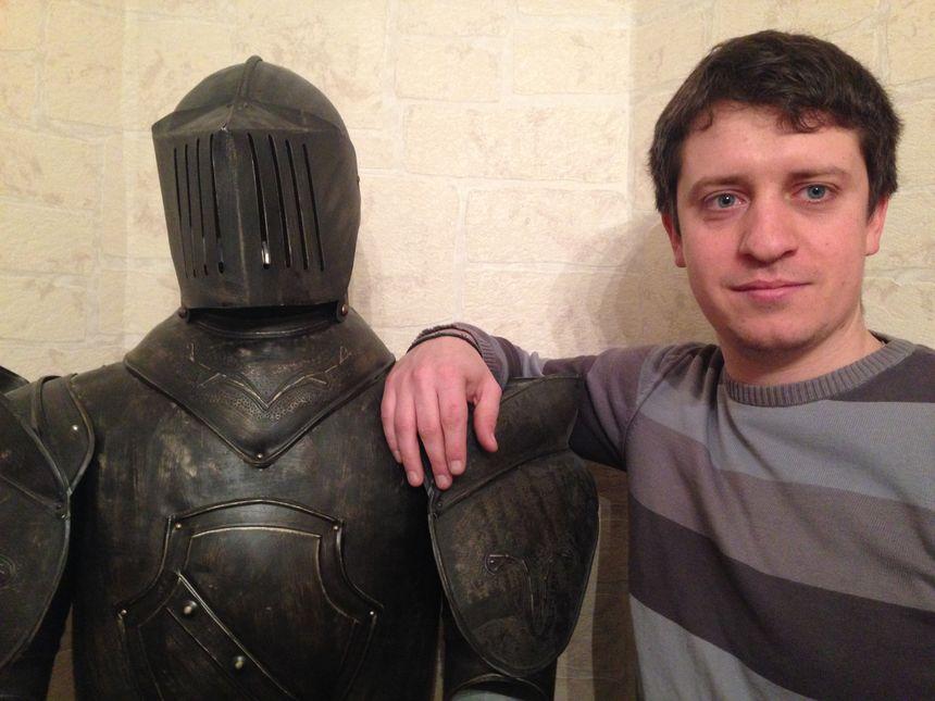 Thibault, le créateur et gérant de l'Arcanium à Dijon