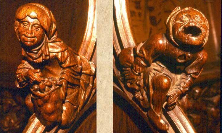 Stalles du choeur de la cathédrale d'Amiens