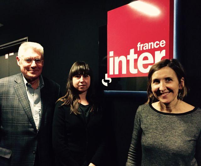 Bernard Bachelier, Cécile Noguès et Camille Morineau