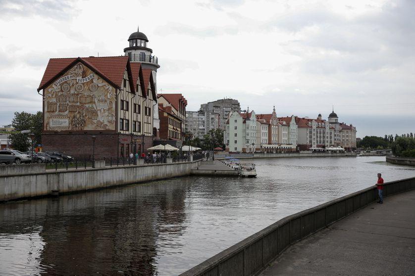 Le vieux port russe de Kaliningrad, entre Pologne et Littuanie