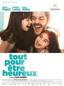 """Affiche """"Tout pour être heureux"""" avec Manu Payet et Aure Atika"""
