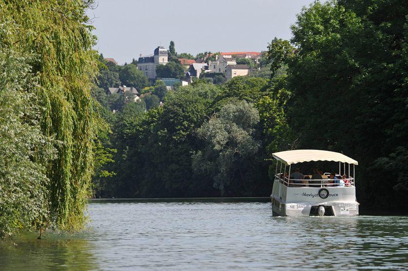 Navigation douce sur la Marne