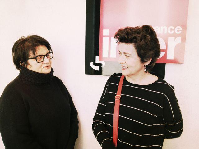 Brigitte patient et Françoise Huguier
