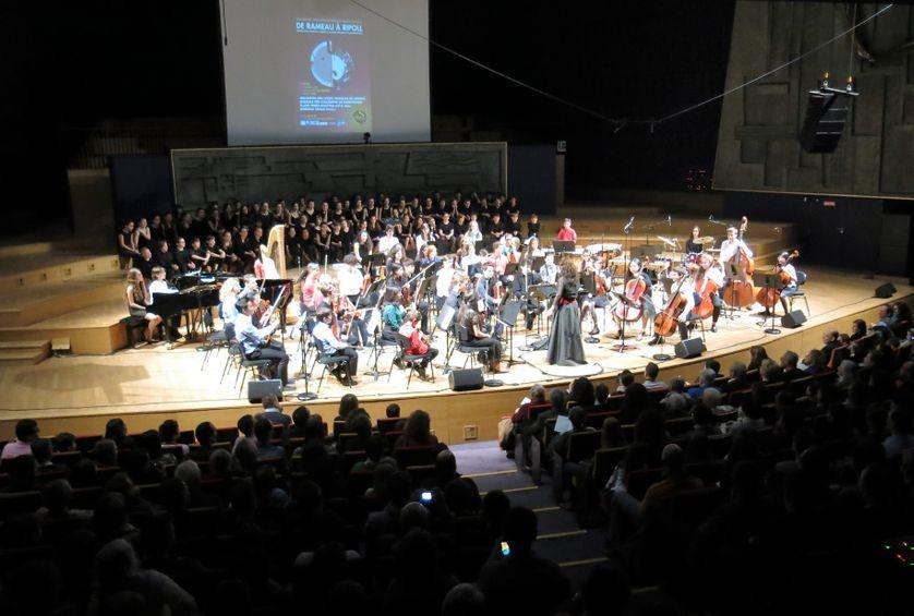 Samedi 19 mars 2016, Concert de l'Orchestre des lycées français à l'étranger