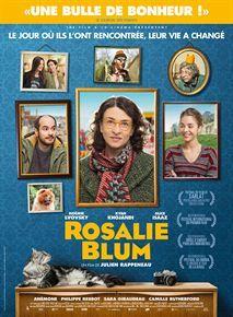 """Affiche """"Rosalie Blum"""" de Rappeneau avec Kyan Khojandi et Alice Isaaz"""
