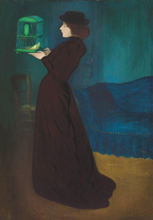 Femme à la cage / József Rippl-Rónai
