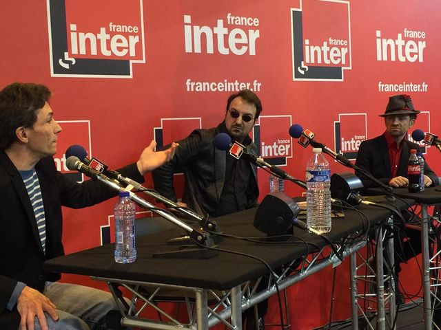 Marc Trévidic, Laurent Balandras et Mathias Malzieu