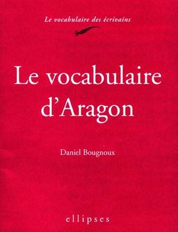 Le vocabulaire d'Aragon