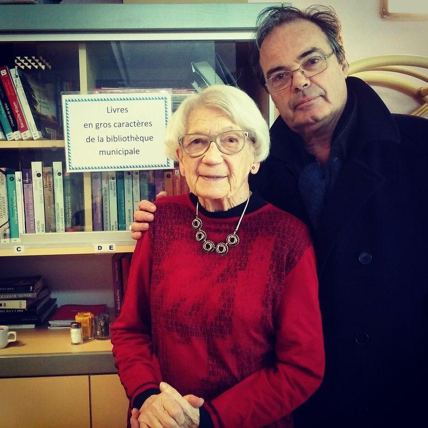 Yvon Le Men et Madame Glorot