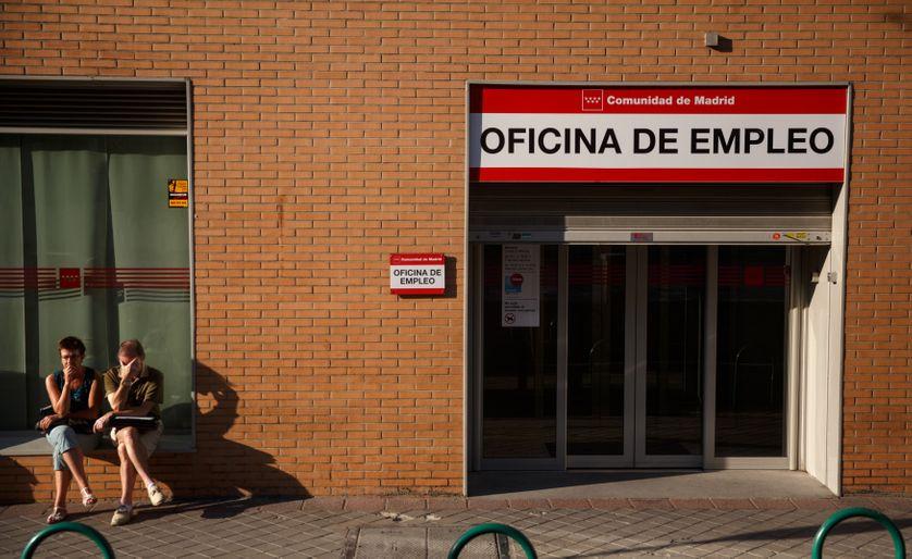 En Espagne, le taux de chômage est monté jusqu'à 27%