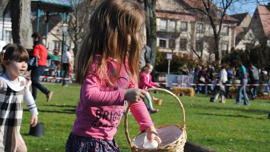 La mission : ramasser 5 œufs pour gagner l'un des 1.000 lapins en chocolat