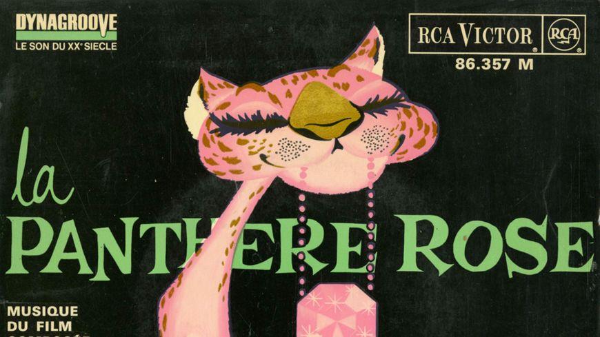 Pochette disque Panthère Rose © RCA VICTOR