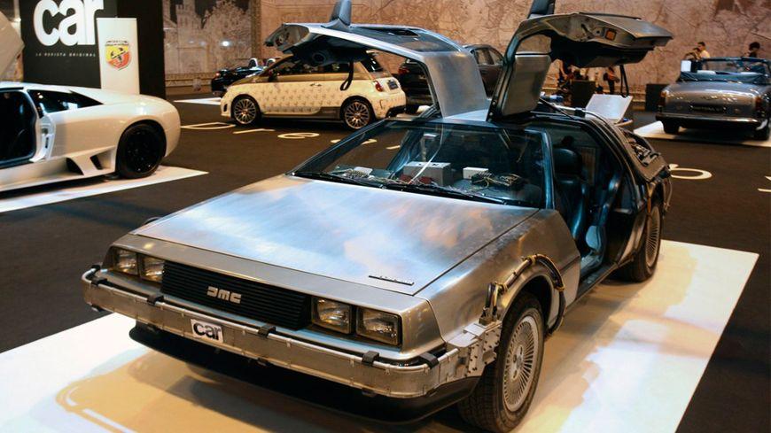 La DeLorean dans « Retour vers le futur »