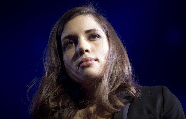 Nadejda Tolokonnikova, membre du groupe punk russe les Pussy Riot