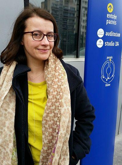 Cécile Duflot à la Maison de Radio France, 25 mars 2016
