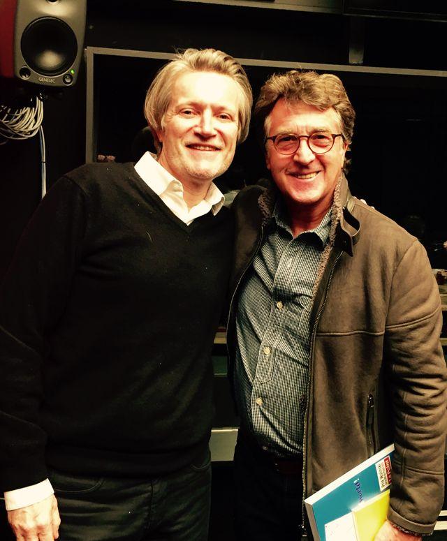 Hervé Penot et François Cluzet