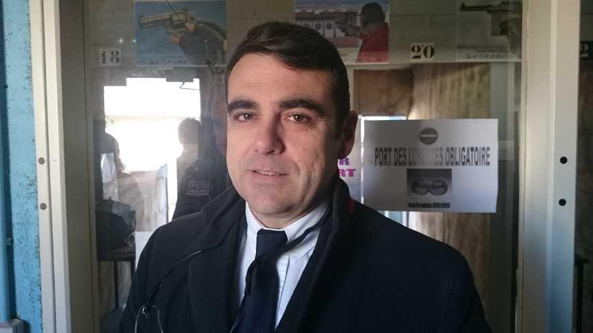 Olivier Géffroy, adjoint au maire d'Orléans, chargé de la sécurité.
