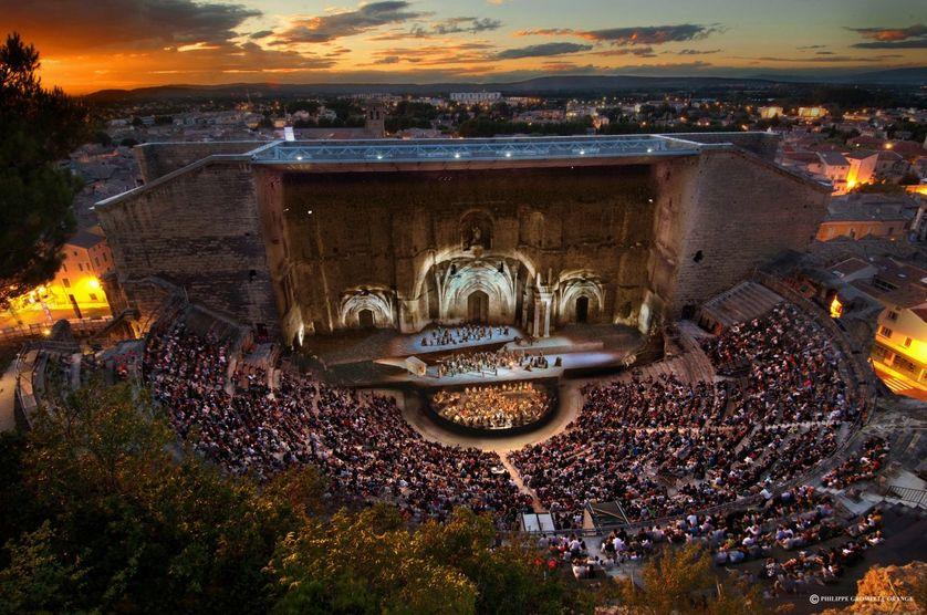 Aida au théâtre antique d'Orange