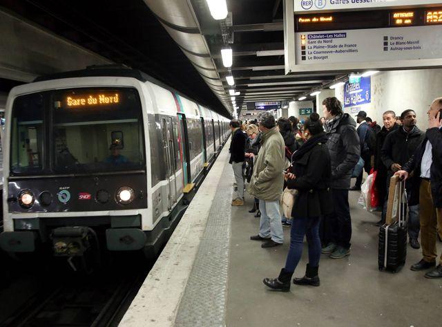 Les RER parisiens seront très touchés par la grève