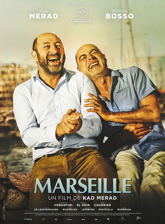 """Marseille"" de Kad Merad avec Patrick Bosso"