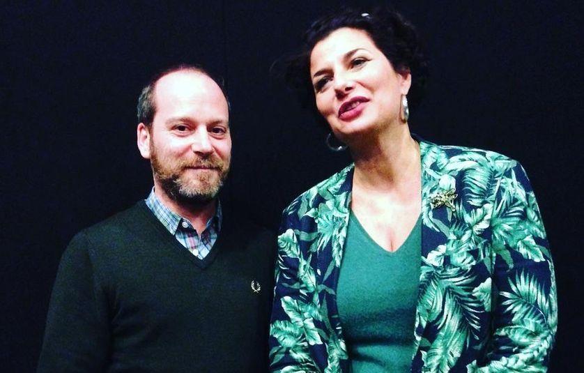 Arthur Nauzyciel et Valérie Baran