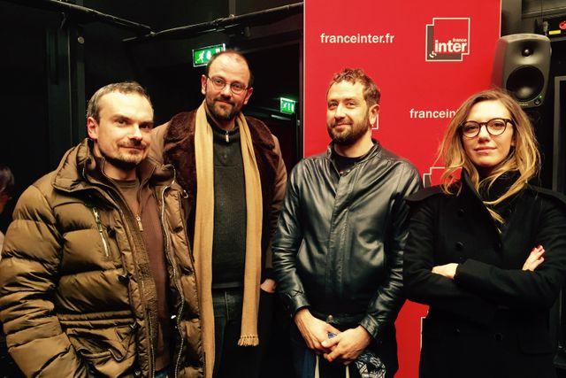 Philippe Guedj, Alex Nikolavitch, Patrice Blouin et Salomé Lagresle