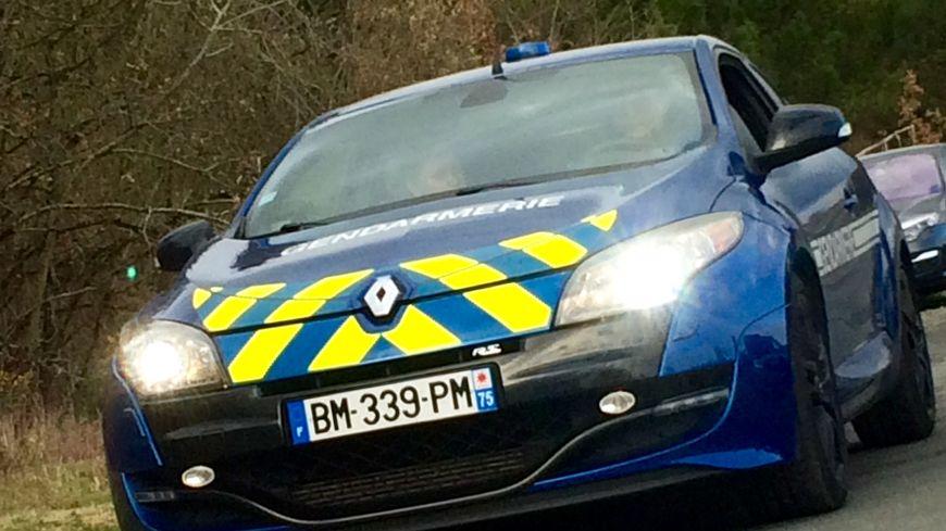 Mégane RS de la Gendarmerie d'Indre et Loire