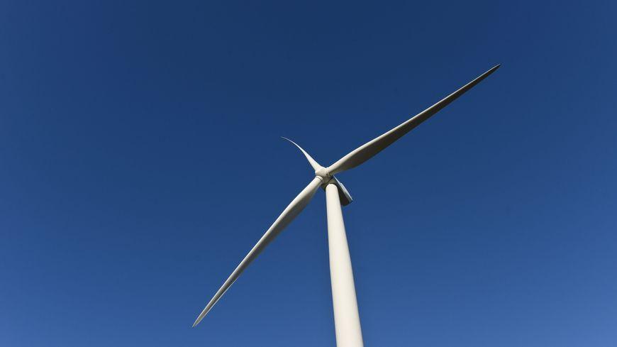 Photo de la future éolienne installée à Nancy