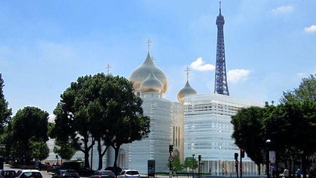 cathédrale ortodoxe russe