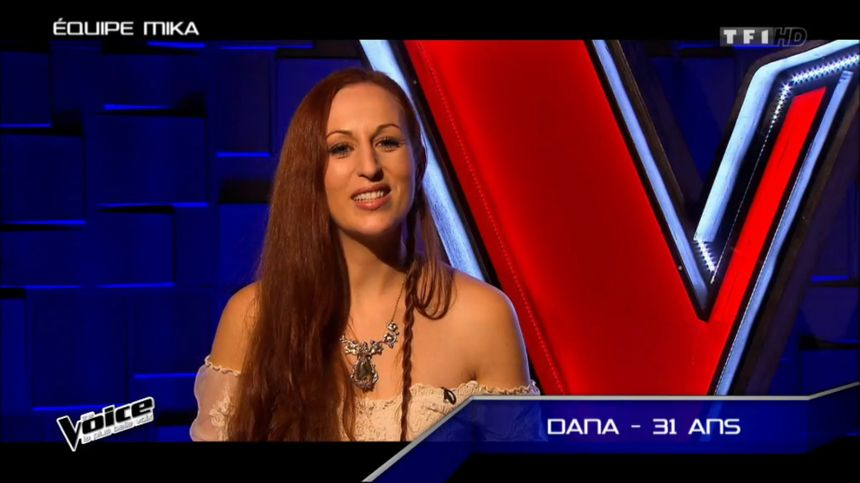 Dana, la morbihanaise de The Voice 2016