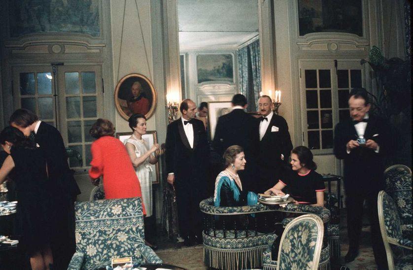 Louise de Vilmorin et Andre Malraux, années 70