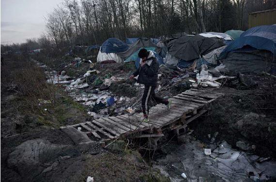 Gael Turine Camps de réfugiés en France