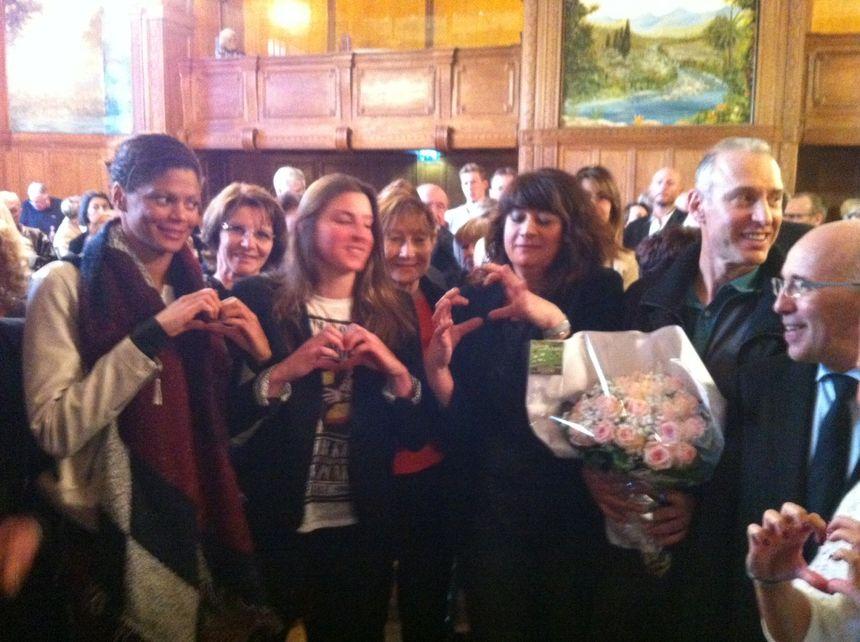 Coralie Balmy, Charlotte Bonnet, Laurence et Guy Muffat, Eric Ciotti