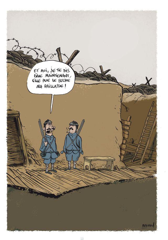 page Les Poilus