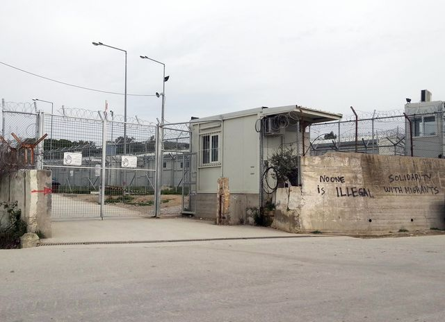 Camp de Moria désormais fermé