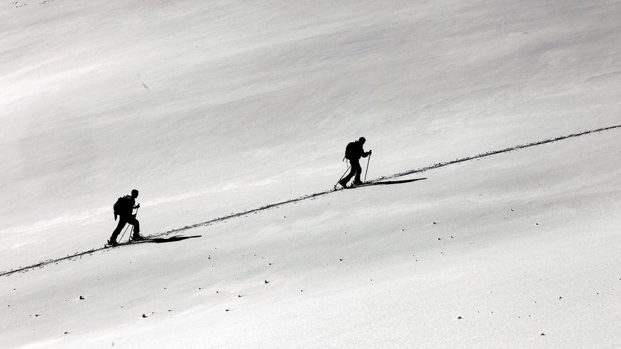 Chasseurs alpins en exercice (illustration)