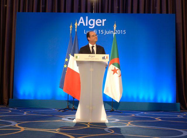 Hollande s'est rendu en Algérie en juin dernier.