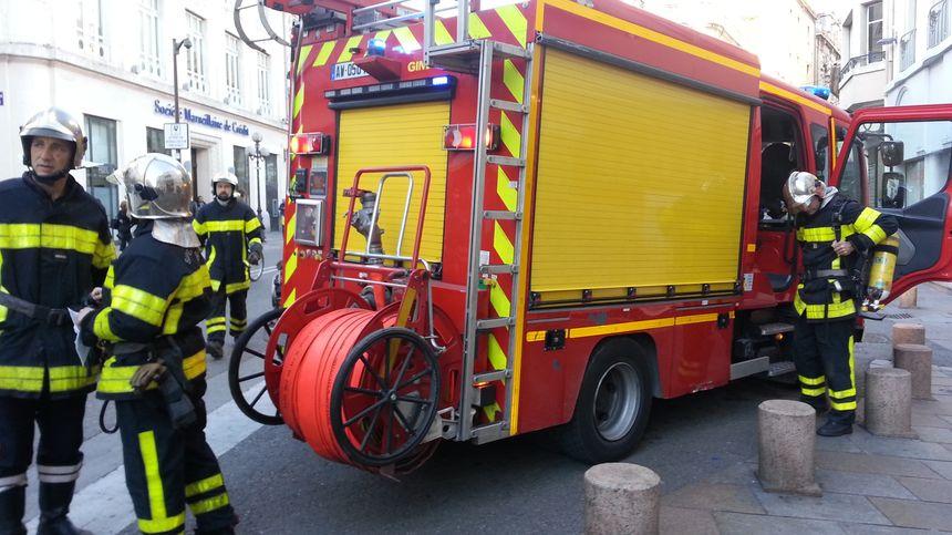 Intervention des pompiers de Vaucluse